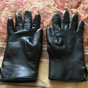 Coach Women's Driving Leather Gloves